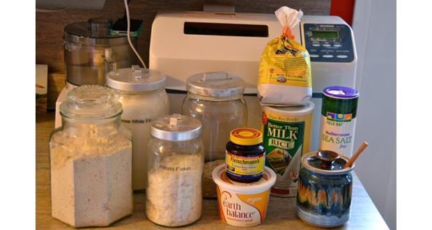 Ingrediente pentru masina de facut paine